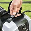 Com backpack retractable handle
